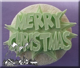 Merry Christmas Silicone Mould