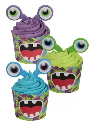 PME Cup Kit Cupcakes & Sugar Decorations - Alien Invasion