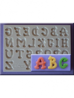 Cartoon Font Silicone Mould