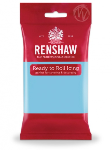 Renshaw Baby Blue Ready To Roll Icing