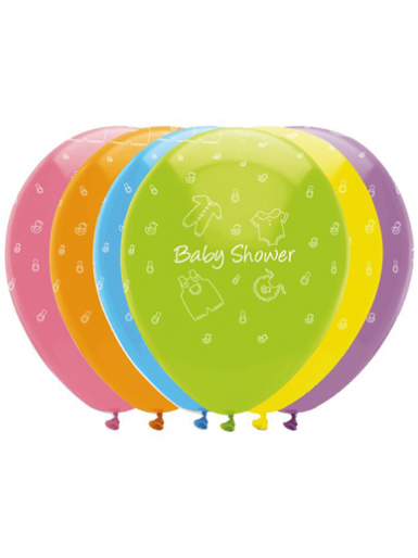 6 Baby Shower Balloons