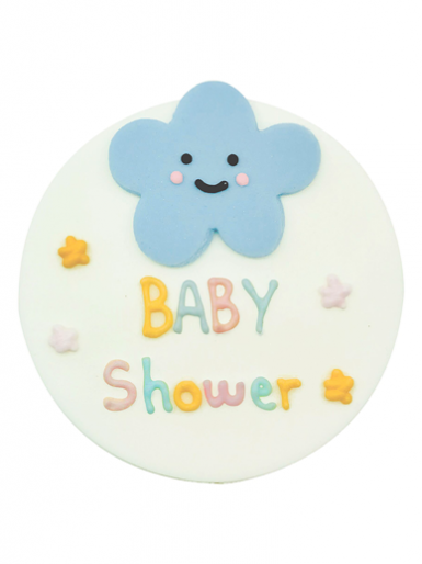 Baby Shower Plaque