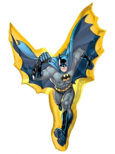 SuperShape - Batman in Action Balloon - 39'' Foil