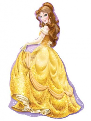 SuperShape - Disney Princess - Belle Balloon - 31'' Foil