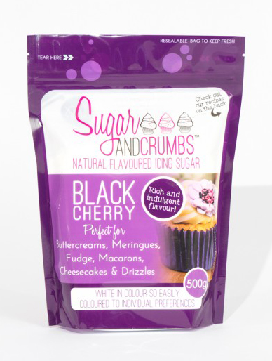 Black Cherry Icing Sugar 500g