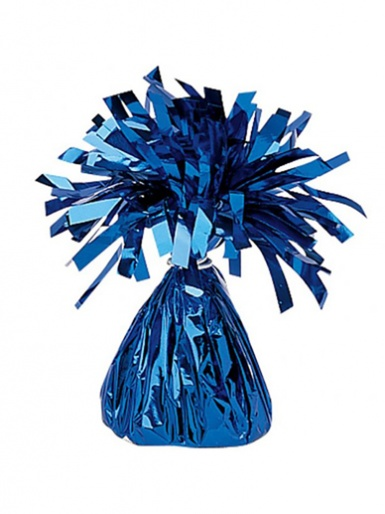 Foil Balloon Weight - Blue