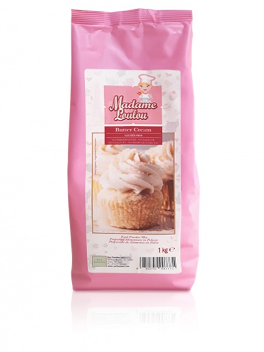 Madame Loulou - Butter Cream powder mix - 1kg