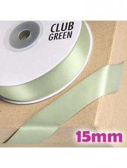 Double Sided Satin Ribbon 15mm Mint