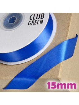 Double Sided Satin Ribbon 15mm Royal Blue