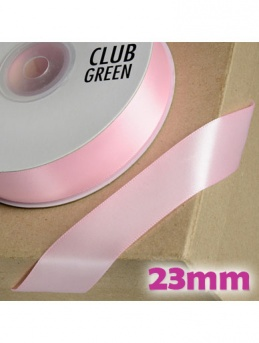Double Sided Satin Ribbon 23mm - Pink