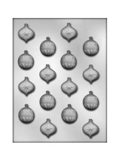 Christmas Baubles Chocolate Mould