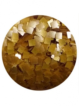 Edible Glitter Squares - Gold