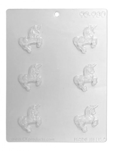 Mini Unicorn Chocolate & Candy Mould