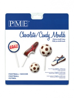 Football / Soccer PME Candy and Lollipop Mould