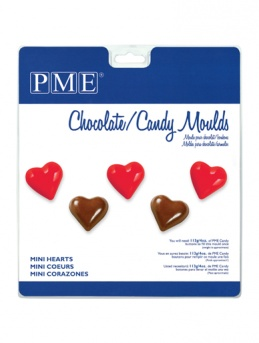 Mini Hearts PME Candy Mould