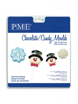 Winter Snow PME Candy and Lollipop Mould
