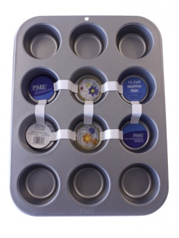 Non Stick 12 Cup Muffin Pan by PME