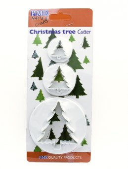 Christmas Tree Cutter (set of 3)