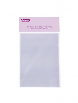 SMALL Cake Pop Bags with ties - Pack of 50