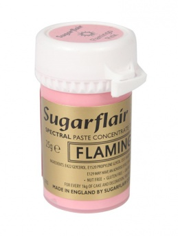 Sugarflair Spectral Paste - Flamingo