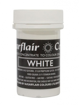 Sugarflair Spectral Paste - White