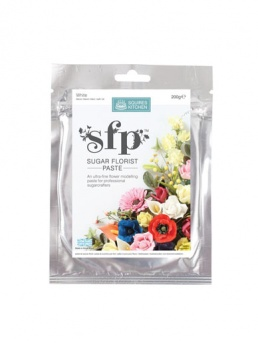 Squires - SFP Sugar Florist Paste - White 200g