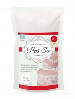 Red Squires Kitchen Flexi-Ice for Edible Lace 250g