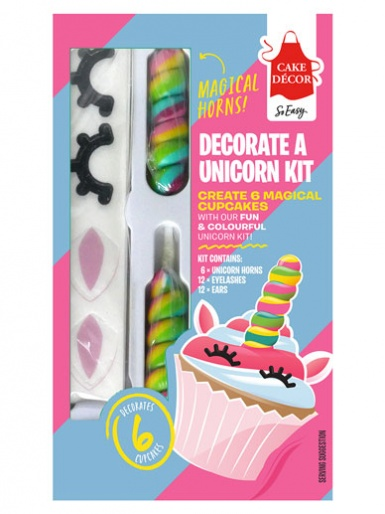 Cake Décor Decorate a Unicorn Kit