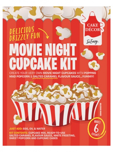 Cake Décor - Movie Night Kit