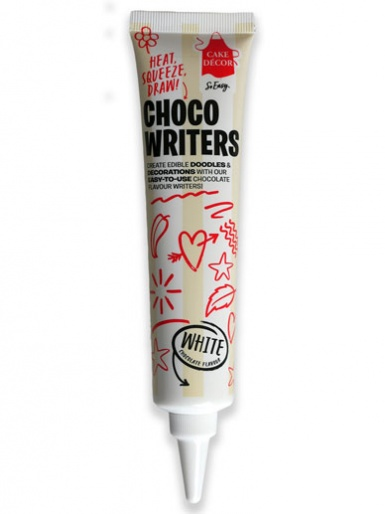 Cake Décor Choco Writers - White Chocolate