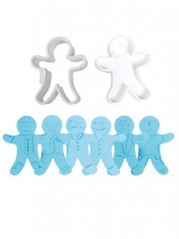 Cake Star Gingerbread Man Cutter and Embossers