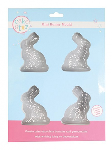 Cake Star Mini Bunny Mould