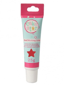 Cake Star Writing Icing Tube - Red - 25g