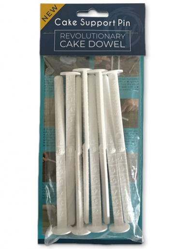 Cake Support Pin Dowels - Pack of 8