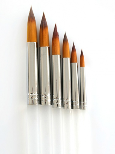 Caking It Up - Brush Set of 6 - Round Tip