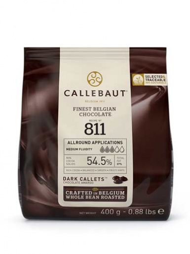 Callebaut Chocolate Callets 400g - Dark 811
