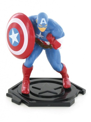 Captain America from Avengers Figure Cake Topper