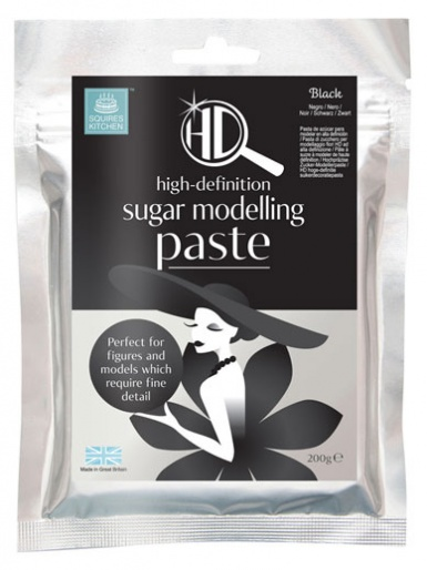 Carlos Lischetti HD Sugar Modelling Paste - Black