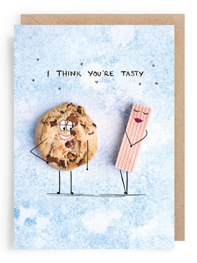 Chocolate Chip Cookies (tasty) - Valentines Card