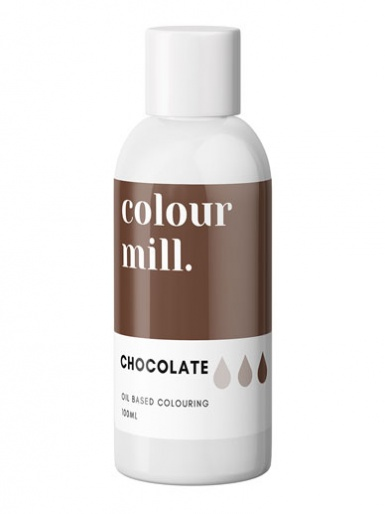 Colour Mill - Oil Based Colour - CHOCOLATE 100ml