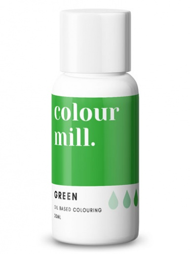 Colour Mill - Oil Based Colour - GREEN 20ml