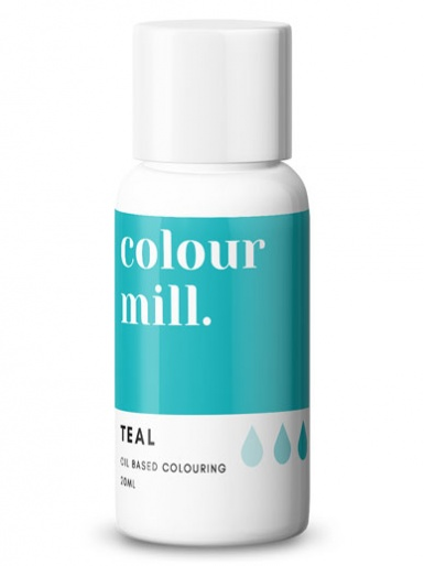 Colour Mill - Oil Based Colour - TEAL 20ml