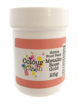 Colour Splash Edible Food Paint  - Rose Gold