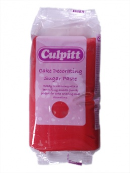 Culpitt Sugar Paste Red 250g