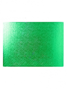 14 x 10 Oblong Green Double Thick Board