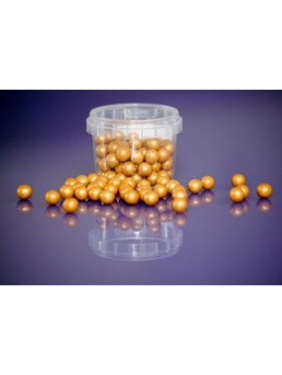 Pearl Gold - Large Sugar Pearls 10mm - 80g