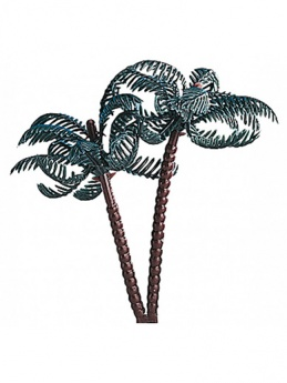 Plastic Palm Tree Cake Topper