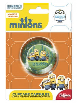 Minions Cupcake Cases - Pack of 50