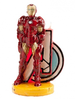 Marvel's Iron Man Candle