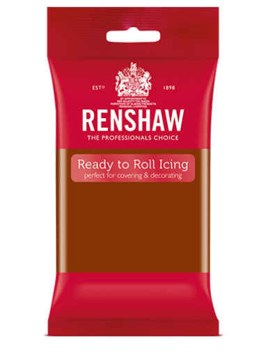 Renshaw Dark Brown Ready To Roll Icing